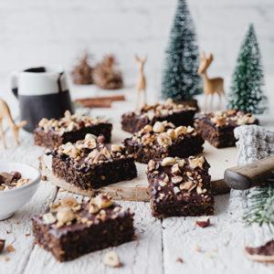 Weihnachtliches Schokoladenbrot