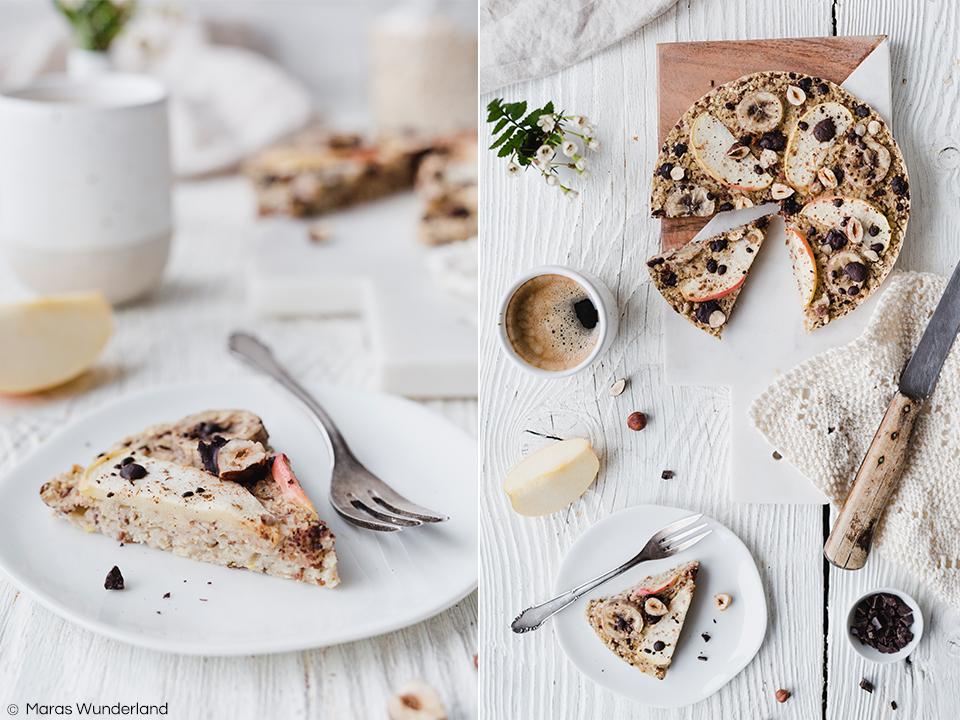 Rezept für eine gesunde, vegane & glutenfreie Frühstückspizza. Ruck zuck gemacht. Einfach am Abend zusammenrühren, über Nacht quellen lassen, am Morgen nach Belieben belegen und backen. Der perfekte Start in den Tag! • Maras Wunderland #frühstückspizza #frühstück #frühstücksidee #breakfastrecipe #breakfast #breakfastpizza #haferpizza #haferflocken #oatslover #maraswunderland #vegan #glutenfrei #glutenfree #healthybreakfast #gesundesfrühstück