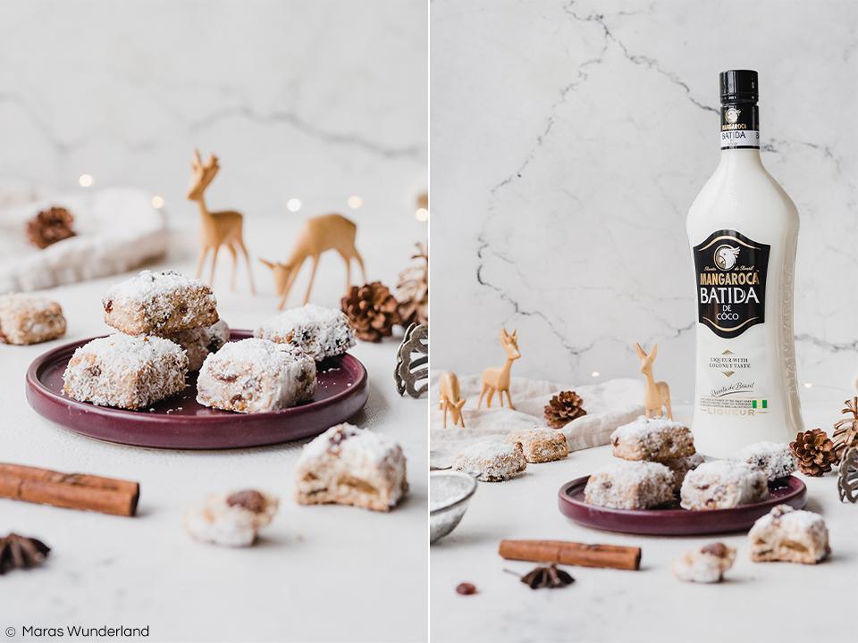 {Werbung} Rezept für gesünderes Kokos-Stollen-Konfekt. Eine herrliche Variante des Weihnachtsklassikers. Einfach herzustellen und gut vorzubereiten. • Maras Wunderland #stollen #stollenkonfekt #kokosstollen #christmastreat #weihnachtsgebäck #weihnachten #maraswunderland