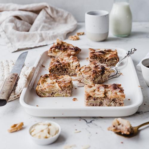 Glutenfreier & gesunder Apfel-Mandel-Kuchen