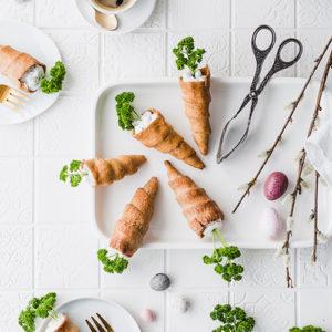 Gesunde & vegane Osterkarotten