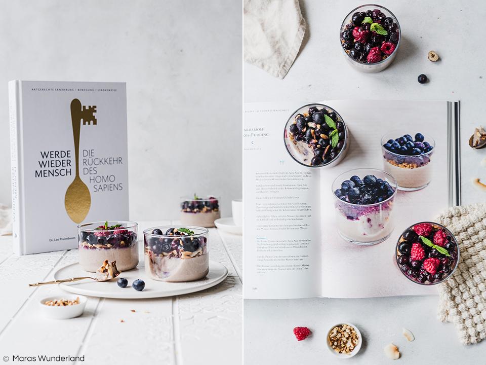Artgerechter und glutenfreier Kokos-Pudding mit Kardamom und Zimt aus dem Buch