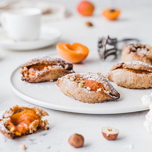 Vegane Aprikosen-Plätzchen
