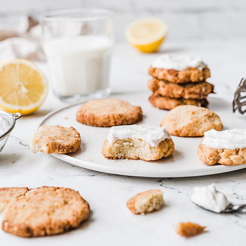 Vegane Lemon Cookies