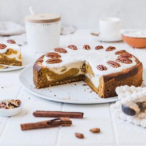 Gesünderer Pumpkin Cheesecake