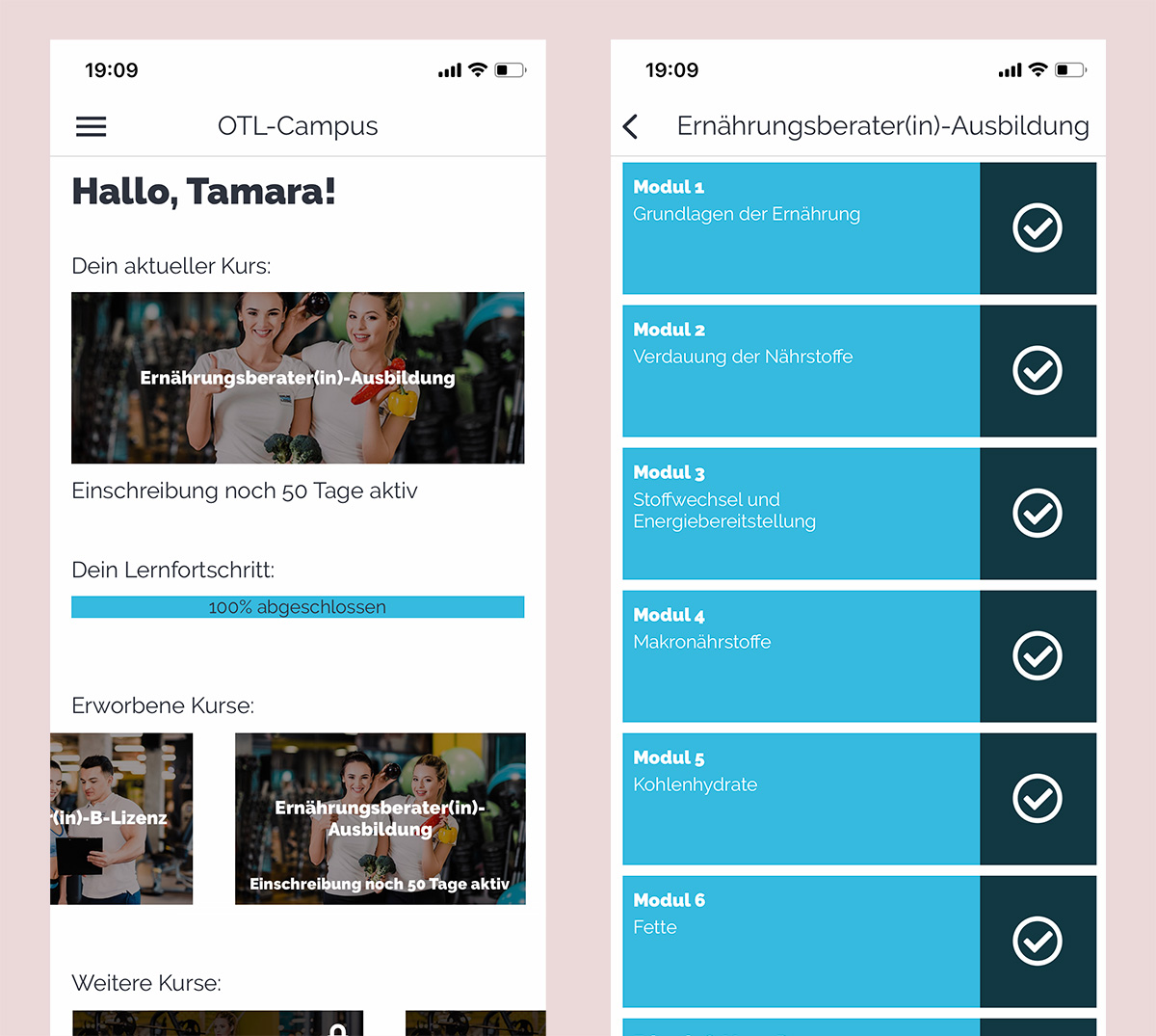 OTL - Online Campus / App