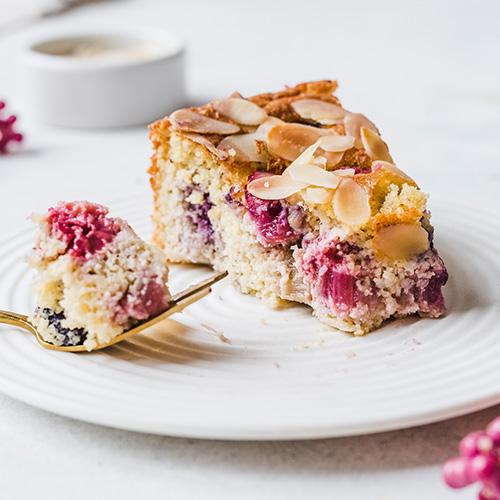 Glutenfreier & schneller Beerenkuchen