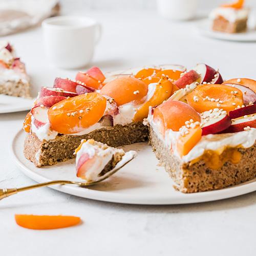 Veganer Aprikosen-Haferflocken