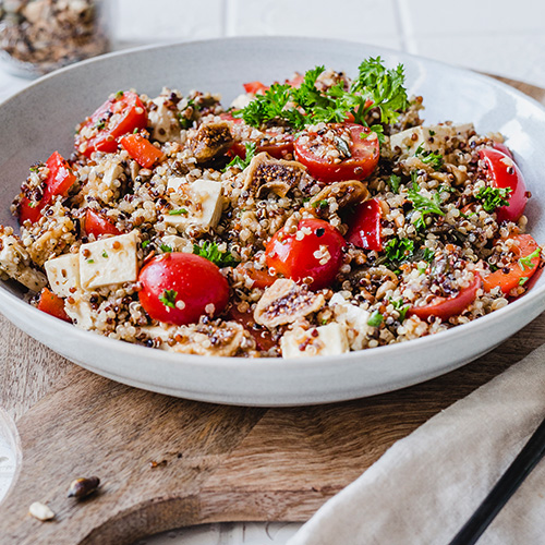 Gesunder Quinoa-Salat